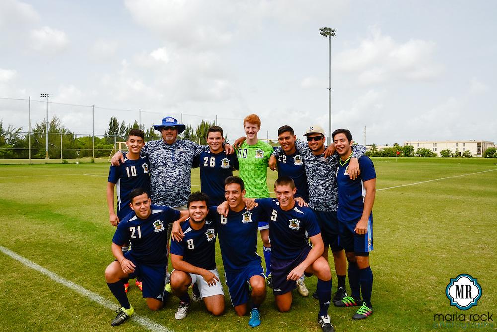 Seniors win final game for Ronald Reagan Doral Senior High School, 3-2