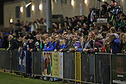 Supporters during the Sussex Women's Challenge Cup Final between Brighton Ladies and Chichester City Ladies at Culver Road, Lancing, United Kingdom on 12 March 2015.