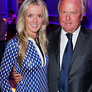 NLD/Hilversum/20120821 - Perspresentatie RTL Nederland 2012 / 2013, Harry Mens en dochter Suze Mens