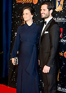 Attendance at the Swedish Sports Gala Prince Carl Philip and Princess Sofia in the Globe in Stockhol