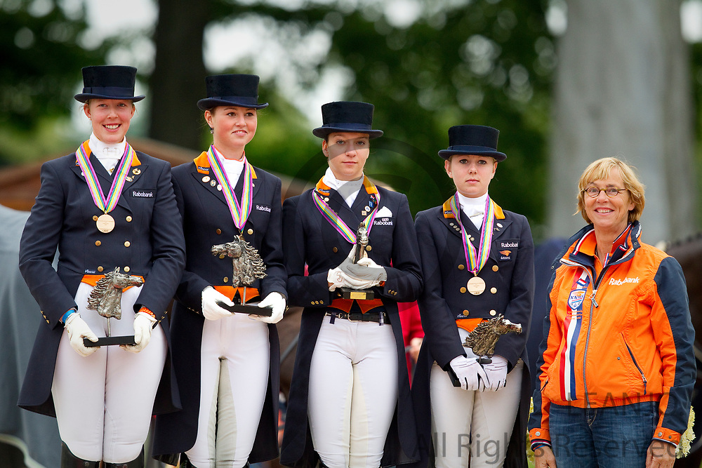 Team Netherlands Young Riders<br /> FEI European Championships 2011<br /> © DigiShots