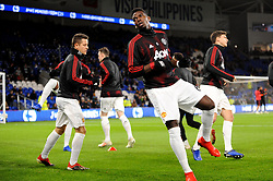 Paul Pogba of Manchester United warms up ahead of kick-off- Mandatory by-line: Nizaam Jones/JMP - 22/12/2018 -  FOOTBALL - Cardiff City Stadium - Cardiff, Wales-  Cardiff City v Manchester United - Premier League