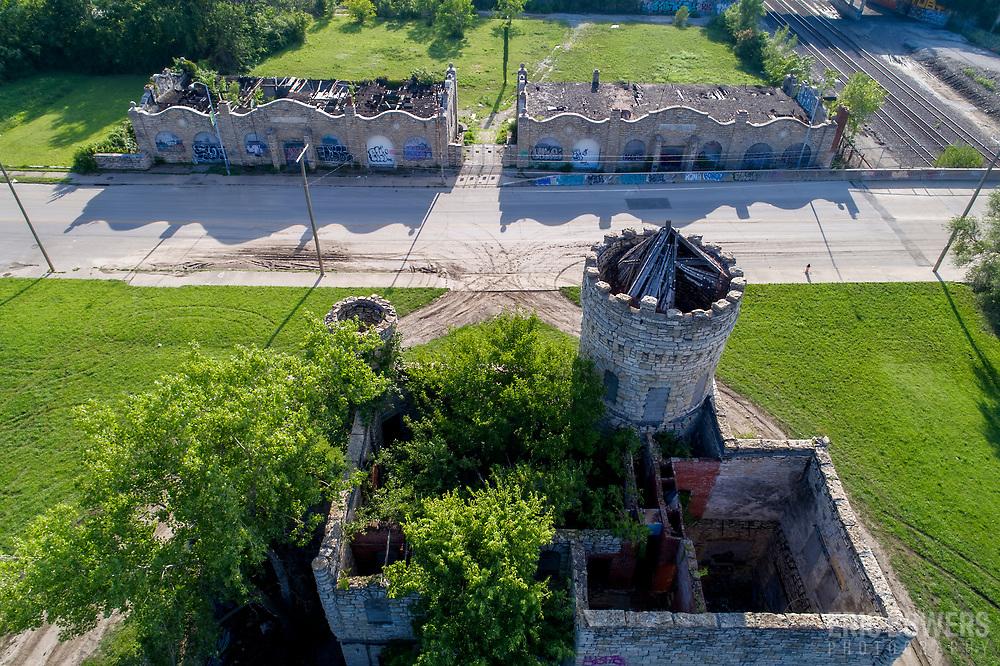 Vine Street Workhouse - 18th and Vine historic structure, Kansas City, Missouri.
