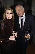 VERA PROTASOVA AND JOHN TAUSIG, Olga Polizzi and Rocco Forte host a party to celebrate the re-opening of Brown's Hotel  after a  £19 million renovation. Albermarle St. London. 12 December 2005. ONE TIME USE ONLY - DO NOT ARCHIVE  © Copyright Photograph by Dafydd Jones 66 Stockwell Park Rd. London SW9 0DA Tel 020 7733 0108 www.dafjones.com