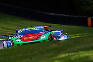 Barwell Motorsport Lamborghini Huracan GT3 with drivers Jon Minshaw & Phil Keen during the British GT Championship Round 9 at  Brands Hatch England on 6 August 2017. Photo by Jurek Biegus.