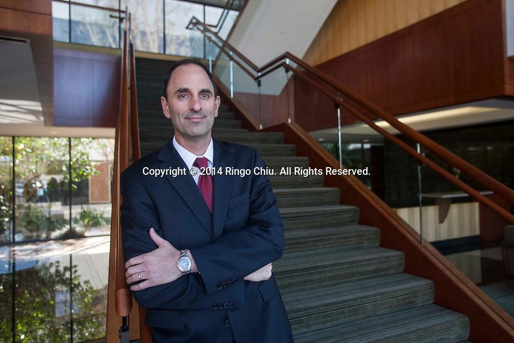 Howard Levkowitz, CEO of TCP Capital Corp., a local non-bank lending company. (Photo by Ringo Chiu/PHOTOFORMULA.com)