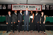 2007 University of Miami Sports Hall of Fame Induction Banquet,  April 26, 2007.