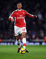 Armand Traore<br /> Arsenal 2009/10<br /> Arsenal V Chelsea (0-3) 29/11/09<br /> The Premier League<br /> Photo Robin Parker Fotosports International