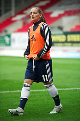 LLANELLI, WALES - Saturday, September 15, 2012: Scotland's Suzanne Grant during the UEFA Women's Euro 2013 Qualifying Group 4 match against Wales at Parc y Scarlets. (Pic by David Rawcliffe/Propaganda)