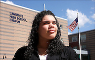 &quot;I compare myself to a turtle&quot; says Arquianys Martinez, 15. She will receive her high school diploma from Lawrence High School on June7/2009. <br /> <br /> Arquianys, originally from Dominican Republic came to US when she was 8 years old. She managed to learned English while enrolled in several after-school programs.