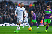 Adam Forshaw of Leeds United (4) in action during the EFL Sky Bet Championship match between Leeds United and Bristol City at Elland Road, Leeds, England on 24 November 2018.