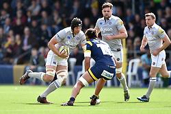 Charlie Ewels of Bath Rugby in possession - Mandatory byline: Patrick Khachfe/JMP - 07966 386802 - 15/04/2017 - RUGBY UNION - Sixways Stadium - Worcester, England - Worcester Warriors v Bath Rugby - Aviva Premiership.