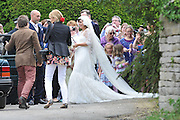 11.JUNE.2011. CRANHAM<br /> <br /> SINGER LILY ALLEN AND SAM COOPER WEDDING DAY AT A CEREMONY HELD IN CRANHAM, GLOUCESTERSHIRE<br /> <br /> BYLINE: EDBIMAGEARCHIVE.COM<br /> <br /> *THIS IMAGE IS STRICTLY FOR UK NEWSPAPERS AND MAGAZINES ONLY*<br /> *FOR WORLD WIDE SALES AND WEB USE PLEASE CONTACT EDBIMAGEARCHIVE - 0208 954 5968*
