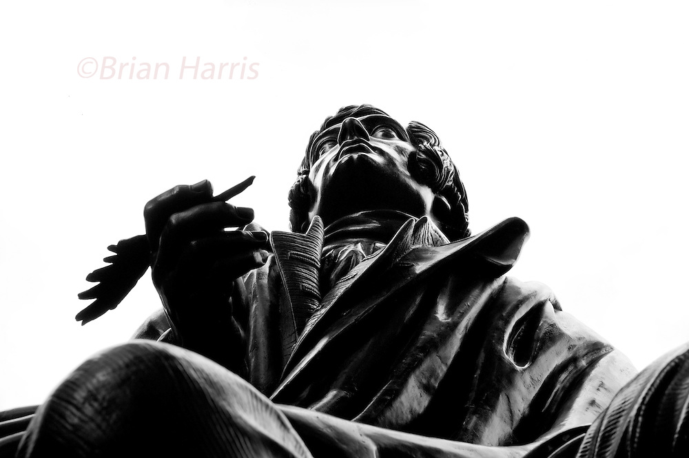 The Statues of London,England. October 2012<br /> Seen here: Robert Burns.<br />  Robert Burns (25 January 1759 &ndash; 21 July 1796) (also known as Rabbie Burns, Scotland's favourite son, the Ploughman Poet, Robden of Solway Firth, the Bard of Ayrshire and in Scotland as The Bard)[1][2] was a Scottish poet and a lyricist. He is widely regarded as the national poet of Scotland, and is celebrated worldwide. He is the best known of the poets who have written in the Scots language, although much of his writing is also in English and a &quot;light&quot; Scots dialect, accessible to an audience beyond Scotland. He also wrote in standard English, and in these his political or civil commentary is often at its most blunt.<br /> He is regarded as a pioneer of the Romantic movement, and after his death he became a great source of inspiration to the founders of both liberalism and socialism, and a cultural icon in Scotland and among the Scottish Diaspora around the world. Celebration of his life and work became almost a national charismatic cult during the 19th and 20th centuries, and his influence has long been strong on Scottish literature. <br /> We pass them without so much of a glance but I decided to walk the embankment and Westminster area of London and take a good long look at the Statues of London. Most of the works are of Victorians many we have never heard of such as those who reformed  the British educations system or built our drains or who gave us clean drinking water. Others are those who helped to defend this country from the Victorian era to the present day.