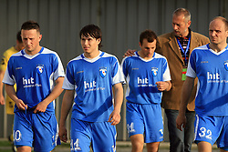 Admir Krsic, Etien Velikonja, Danjel Rakuscek and Milan Osterc at 32th Round of Slovenian First League football match between NK Domzale and NK Hit Gorica in Sports park Domzale, on May 6, 2009, in Domzale, Slovenia. Gorica won 2:0. (Photo by Vid Ponikvar / Sportida)