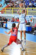 DESCRIZIONE : Cagliari Qualificazioni Campionati Europei Italia Croazia <br /> GIOCATORE : Raffaella Masciadri<br /> SQUADRA : Nazionale Italia Donne <br /> EVENTO :  Qualificazioni Campionati Europei Nazionale Italiana Femminile <br /> GARA : Italia Croazia<br /> DATA : 02/08/2010 <br /> CATEGORIA : Tiro Three Points<br /> SPORT : Pallacanestro <br /> AUTORE : Agenzia Ciamillo-Castoria/M.Gregolin<br /> Galleria : Fip Nazionali 2010 <br /> Fotonotizia : Cagliari Qualificazioni Campionati Europei Italia Croazia<br /> Predefinita :