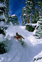 Snowboarder, Mary Jane, Winter Park ski resort, Colorado