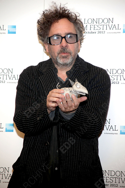 10.OCTOBER.2012. LONDON<br /> <br /> PHOTOCALL FOR THE LAUNCH OF THE NEW TIM BURTON FILM, FRANKENWEENIE, LONDON<br /> <br /> BYLINE: EDBIMAGEARCHIVE.CO.UK<br /> <br /> *THIS IMAGE IS STRICTLY FOR UK NEWSPAPERS AND MAGAZINES ONLY*<br /> *FOR WORLD WIDE SALES AND WEB USE PLEASE CONTACT EDBIMAGEARCHIVE - 0208 954 5968*