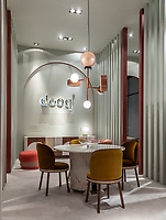 Интерьерная фотосъемка стенда дизайн-бюро DOOQ (Португалия) на выставке Maison et Objet 2019.