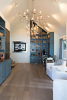 A renovated seaside home is renovated by Interior Designer Sandra McIntyre