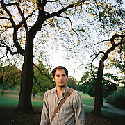 BROOKLYN, NY - SEPTEMBER 2010: Virginia based photojournalist Matt Eich of Luceo in Brooklyn, New York.