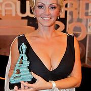 NLD/Amsterdam/20111002 - Uitreiking John Kraaijkamp awards 2011, Lone van Roosendaal