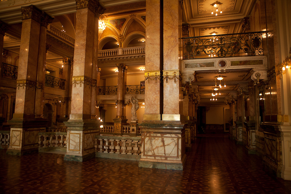 Rio de Janeiro_RJ, Brasil.<br /> <br /> Interior Theatro Municipal do Rio de Janeiro. <br /> <br /> Inside the Municipal Theater of Rio de Janeiro. <br /> <br /> Foto: LUIZ FELIPE FERNANDES / NITRO
