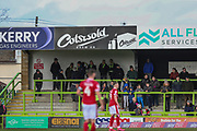 Cotswold Ad board during the EFL Sky Bet League 2 match between Forest Green Rovers and Walsall at the New Lawn, Forest Green, United Kingdom on 8 February 2020.