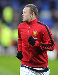 Man Utd Forward Wayne Rooney (ENG) - Photo mandatory by-line: Joseph Meredith/JMP - Tel: Mobile: 07966 386802 - 24/11/2013 - SPORT - FOOTBALL - Cardiff City Stadium - Cardiff City v Manchester United - Barclays Premier League.