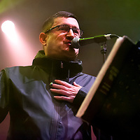 Paul Heaton and Jacqui Abbott in concert at The O2 Academy, Glasgow, Scotland, Britain, 13th September 2011