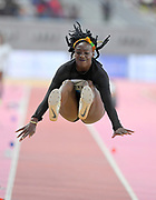 Christabel Nettey (CAN) places fourth in the women's long jump at 21-6 (6.55m) during the IAAF Doha Diamond League 2019 at Khalifa International Stadium, Friday, May 3, 2019, in Doha, Qatar (Jiro Mochizuki/Image of Sport)