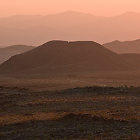 Cinder Cone art photography for the Mojave National Preserve.