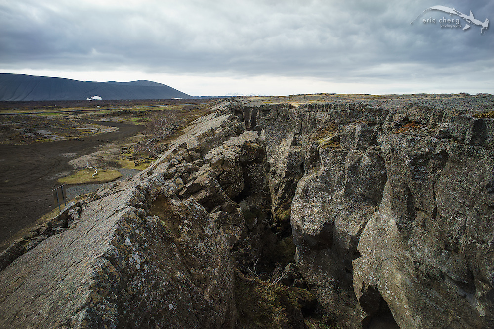 Grjotagja (Grjótagjá) cave is part of a dramatic rift that tears across Iceland near Lake Myvatn (and is where a Jon Snow / Ygritte scene was shot in Game of Thrones).