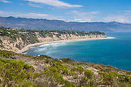 The view from Point Dume in Malibu, California.
