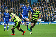 Sheffield Wednesday midfielder Adam Reach (9)  during the EFL Sky Bet Championship play off second leg match between Sheffield Wednesday and Huddersfield Town at Hillsborough, Sheffield, England on 17 May 2017. Photo by John Potts.