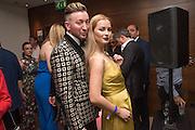MARK WHITTLE; ALEKSANDRA JWSK, London Bar & Club Awards, Intercontinental Hotel. Park Lane. London, 6 June 2016