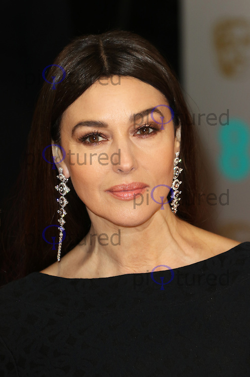 Monica Belluci, EE British Academy Film Awards (BAFTAs), Royal Opera House Covent Garden, London UK, 08 February 2015, Photo by Richard Goldschmidt