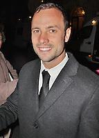 LONDON - November 30: Oscar Pistorius at the British Olympic Ball (Photo by Brett D. Cove)