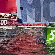 course mini 6.50 entre Locmiquélic et Pornichet