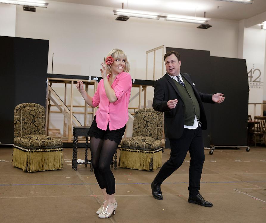 Bullets Over Broadway Meet and Greet<br /> Written by Woody Allen<br /> Susan Stroman: Director and Choreographer<br /> Credit Photo: Paul Kolnik<br /> studio@paulkolnik.com<br /> nyc 212-362-7778