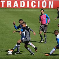 Toluca, México (Diciembre 31, 2016).- Los Diablos Rojos del Toluca empataron a un gol ante puebla, último duelo amistoso de cara al a torneo Clausura 2017 de la Liga Mx. Agencia MVT / Arturo Hernández.