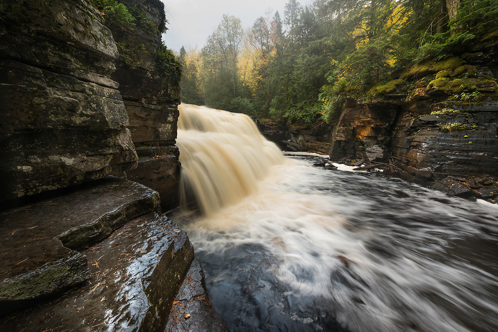 Canyon Falls - Michigan's Upper Peninsula