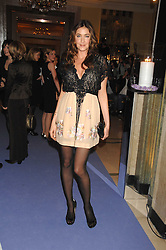 LISA SNOWDON at the 10th Anniversary Party of the Lavender Trust, Breast Cancer charity held at Claridge's, Brook Street, London on 1st May 2008.<br />