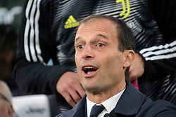 May 19, 2019 - Turin, Turin, Italy - head coach of Juventus FC Massimiliano Allegri looks on before the serie A match between Juventus FC and Atalanta BC at Allianz Stadium on May 19, 2019 in Turin, Italy. (Credit Image: © Giuseppe Cottini/NurPhoto via ZUMA Press)