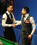 2018 Betfred Snooker World Championships - Day Four - 24 Apr 2018