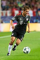 Bayern Munich's player Philipp Lahm during match of UEFA Champions League at Vicente Calderon Stadium in Madrid. September 28, Spain. 2016. (ALTERPHOTOS/BorjaB.Hojas)