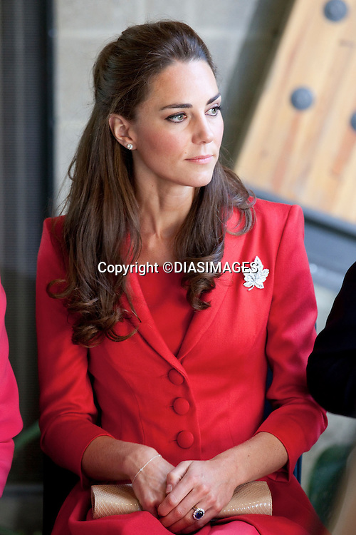 """PRINCE WILLIAM & KATE CANADA.The Duke and Duchess attend a Government of Alberta Reception at The Enmax Conservatory, at Calgary Zoo,Alberta, Calgary_08/07/2011.Mandatory Credit Photo: ©DIASIMAGES. .**ALL FEES PAYABLE TO: """"NEWSPIX INTERNATIONAL""""**..No UK Usage until 03/08/2011.IMMEDIATE CONFIRMATION OF USAGE REQUIRED:.DiasImages, 31a Chinnery Hill, Bishop's Stortford, ENGLAND CM23 3PS.Tel:+441279 324672  ; Fax: +441279656877.Mobile:  07775681153.e-mail: info@newspixinternational.co.uk"""