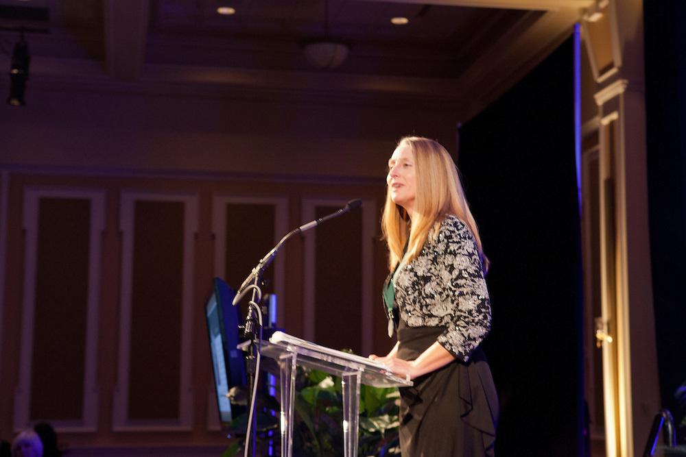 Amy Sage Webb at Ohio University Alumni Association's Annual Awards Gala at Baker University Center on October 11, 2013.