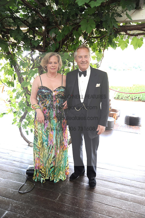 NICHOLAS &amp; ANNIE COLQUHOUN-DENVERS at the annual Ham Polo Club Summer Ball held at the club, Petersham Road, Richmond, Surrey on 25th July 2008.<br /> <br /> NON EXCLUSIVE - WORLD RIGHTS