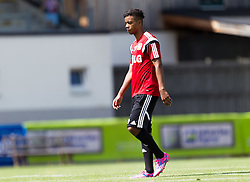 16.07.2014, Alois Latini Stadion, Zell am See, AUT, Bayer 04 Leverkusen Trainingslager, im Bild Benjamin Henrichs (Bayer 04 Leverkusen) // Benjamin Henrichs (Bayer 04 Leverkusen) during a Trainingssession of the German Bundesliga Club Bayer 04 Leverkusen at the Alois Latini Stadium, Zell am See, Austria on 2014/07/16. EXPA Pictures © 2014, PhotoCredit: EXPA/ JFK